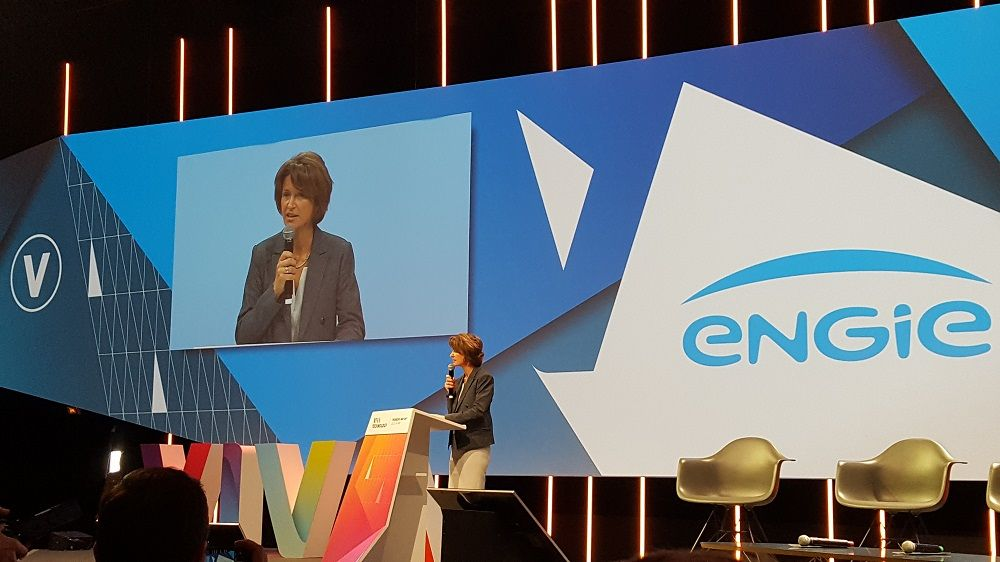 Isabelle Kocher CEO d'Engie à Viva Technology 2018