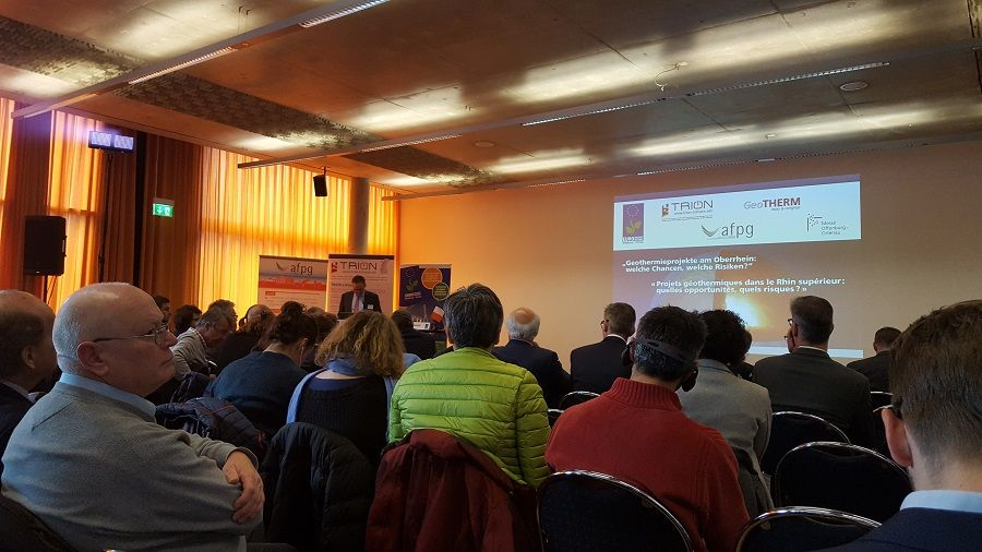 Conférence sur la géothermie à Offenburg