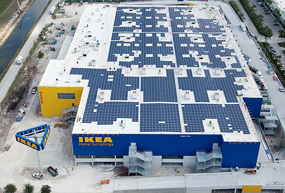 Ikea photovoltaïque