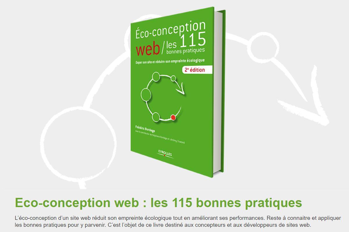 115 bonnes pratiques pour l'éco-conception de site web